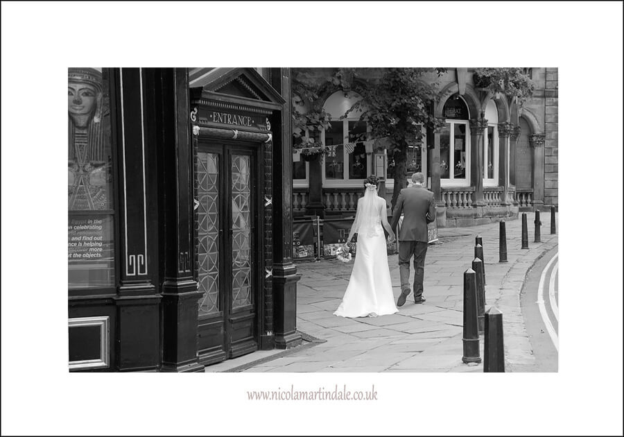A Wedding in Black and White